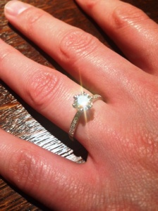 Drain Doctor Glasgow engagement ring