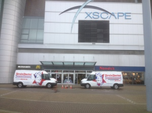 Thanks to the award-winning Milton Keynes franchise of Drain Doctor Plumbing the Xscape winter sports centre is all set for a bumper winter season.